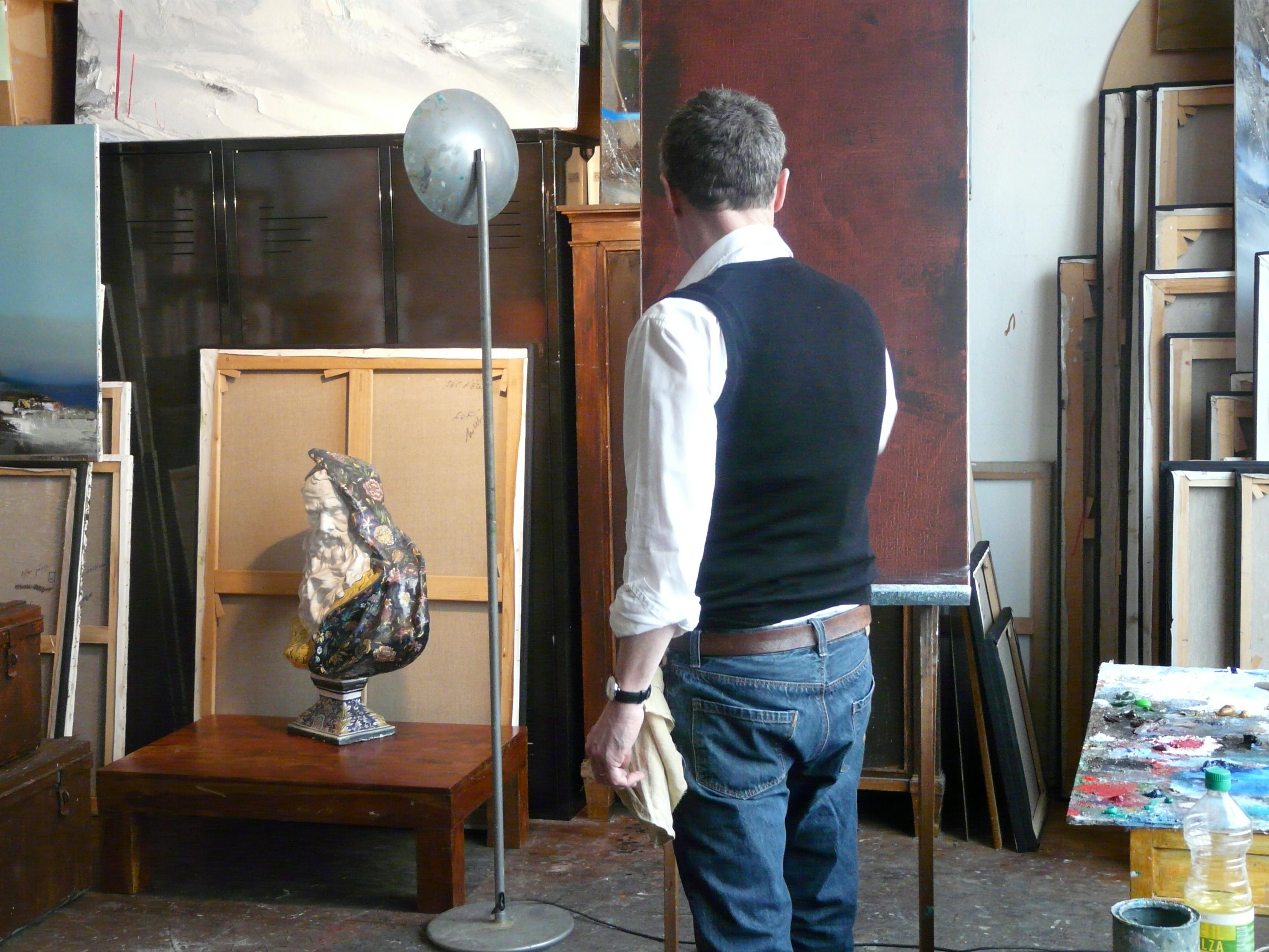 Portrait d'artiste sur Jean Arcelin